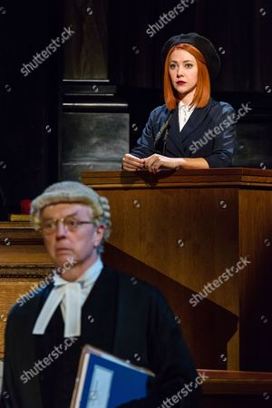 Philip Franks as Mr Myers QC and Catherine Steadman as Romaine
