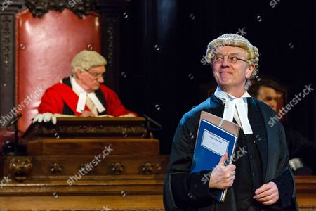 Philip Franks as Mr Myers QC, Patrick Godfrey as Mister Justice Wainwright