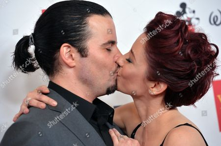 Stock Picture of Nathan West and Chyler Leigh
