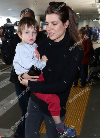 Stock Picture of Charlotte Casiraghi, Raphael Elmaleh