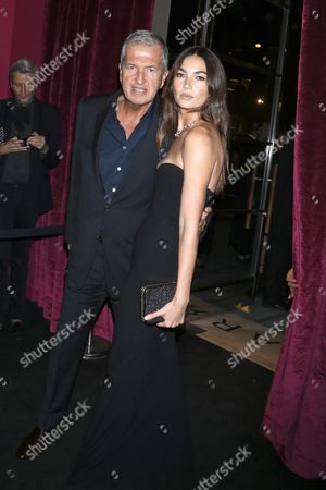 Mario Testino and Lily Aldridge