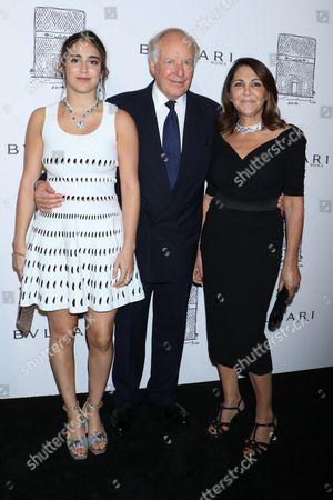 Editorial photo of Bulgari flagship store opening celebration, New York, USA - 20 Oct 2017