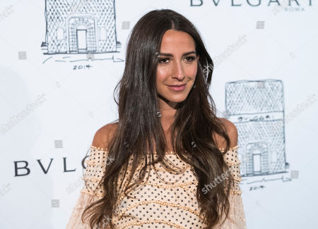 Stock Photo of Arielle Charnas attends the re-opening of the Bulgari Fifth Avenue flagship store, in New York
