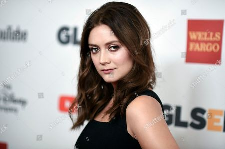 Stock Image of Billie Catherine Lourd attends the 2017 GLSEN Respect Awards at the Beverly Wilshire Hotel, in Beverly Hills, Calif