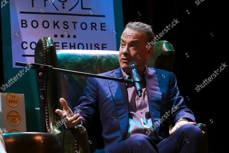 Editorial picture of Tom Hanks in Conversation with Ann Patchett, Washington, USA - 19 Oct 2017