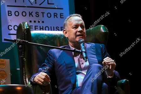 Editorial photo of Tom Hanks in Conversation with Ann Patchett, Washington, USA - 19 Oct 2017