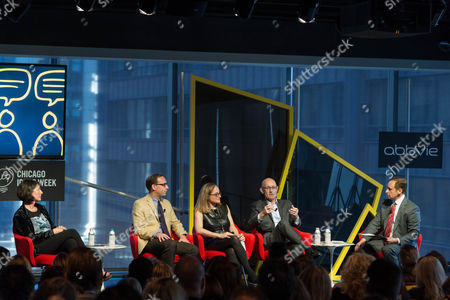 Editorial photo of Chicago Ideas Week, USA - 19 Oct 2017