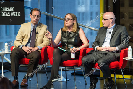 Editorial image of Chicago Ideas Week, USA - 19 Oct 2017
