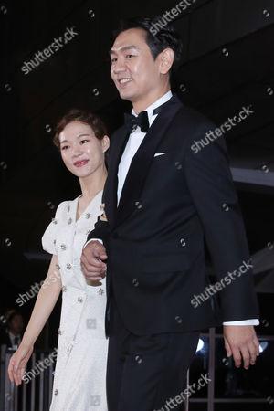 Han Ye-ri and Kim Tae-woo