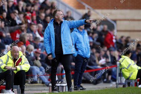O's manager Steve Davis during Leyton Orient vs Macclesfield Town, Vanarama National League Football at the Matchroom Stadium on 21st October 2017