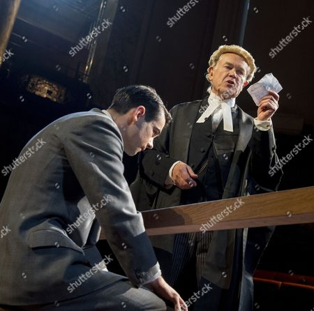 Jack McMullen as Leonard Vole, David Yelland as Sir Wilfrid Robarts