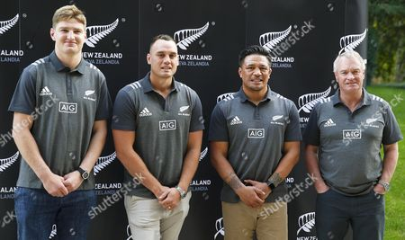 Editorial image of All Blacks press conference, Madrid, Spain - 21 Oct 2017