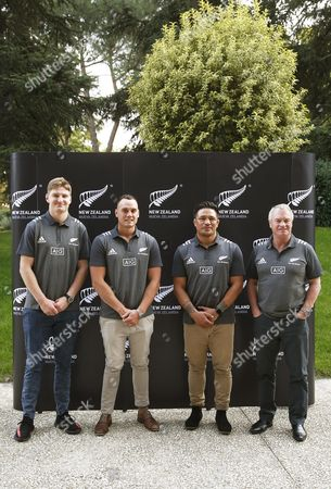 Editorial picture of All Blacks press conference, Madrid, Spain - 21 Oct 2017