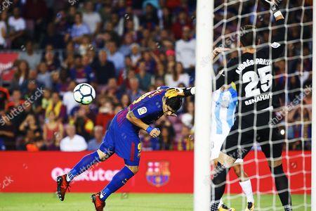 Editorial photo of FC Barcelona vs Malaga CF, Spain - 21 Oct 2017