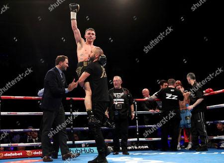 Editorial picture of IBA/WBA World Bantamweight Title Unification Bout - Ryan Burnett vs Zhanat Zhakiyanov, SSE Arena, Belfast  - 21 Oct 2017