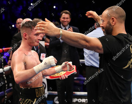 Editorial image of IBA/WBA World Bantamweight Title Unification Bout - Ryan Burnett vs Zhanat Zhakiyanov, SSE Arena, Belfast  - 21 Oct 2017