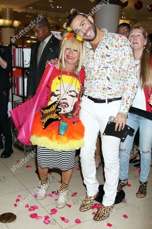 Betsey Johnson and Micah Jesse
