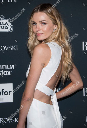 Stock Picture of Valentina Zelyaeva attends the Harper's BAZAAR 'Icons by Carine Roitfeld' party at The Plaza Hotel, in New York