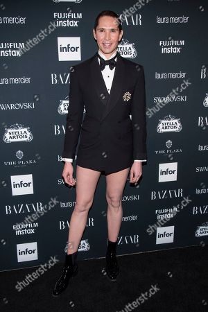 Di Mondo attends the Harper's BAZAAR 'Icons by Carine Roitfeld' party at The Plaza Hotel, in New York