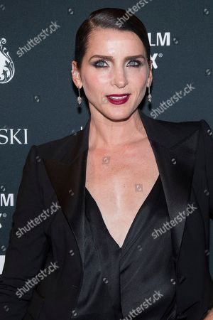 Michele Hicks attends the Harper's BAZAAR 'Icons by Carine Roitfeld' party at The Plaza Hotel, in New York