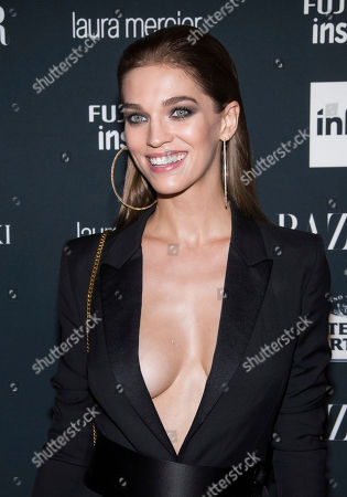 Samantha Gradoville attends the Harper's BAZAAR 'Icons by Carine Roitfeld' party at The Plaza Hotel, in New York