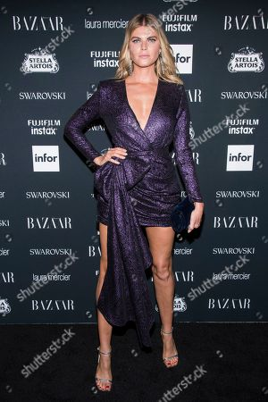 Maryna Linchuk attends the Harper's BAZAAR 'Icons by Carine Roitfeld' party at The Plaza Hotel, in New York