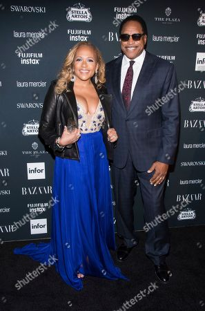 Tonya Turner, Dave Winfield. Tonya Turner and Dave Winfield attend the Harper's BAZAAR 'Icons by Carine Roitfeld' party at The Plaza Hotel, in New York