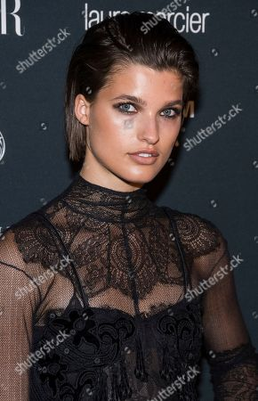 Julia van Os attends the Harper's BAZAAR 'Icons by Carine Roitfeld' party at The Plaza Hotel, in New York