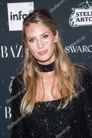 Dylan Frances Penn attends the Harper's BAZAAR 'Icons by Carine Roitfeld' party at The Plaza Hotel, in New York