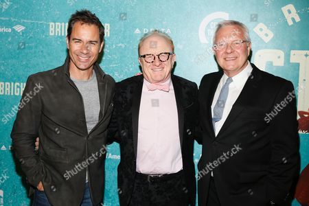 Eric McCormack, Peter Asher and Walter Bobbie