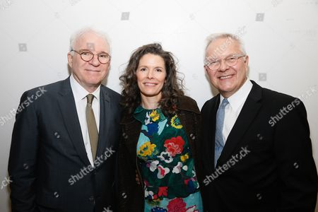 Stock Photo of Steve Martin and Edie Brickell and Walter Bobbie