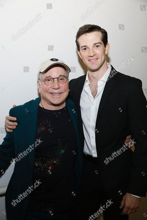 Stock Image of Paul Simon and A J Shively