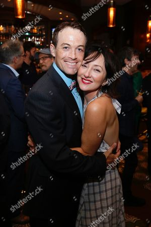 Patrick Cummings and Carmen Cusack