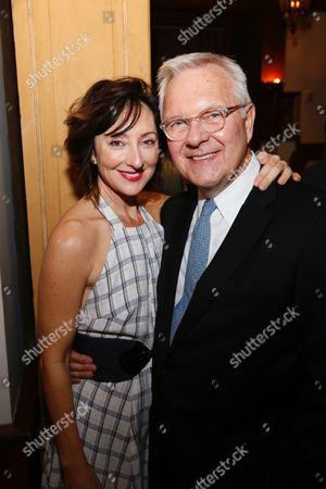 Carmen Cusack and Walter Bobbie