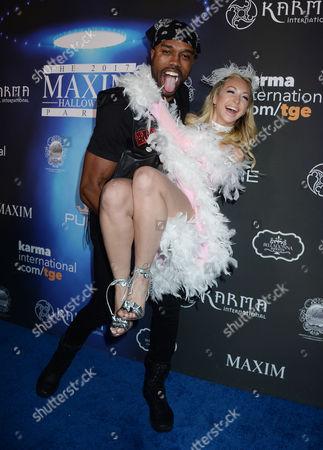 Corinne Olympios and DeMario Jackson