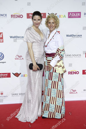 Editorial picture of Goldene Bild der Frau award ceremony, Hamburg, Germany - 21 Oct 2017