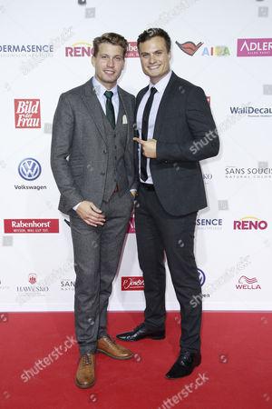 Raul Richter mit Bruder Ricardo Richter