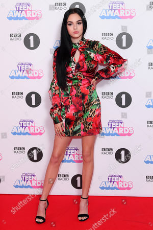 Editorial photo of BBC Radio 1's Teen Awards, Arrivals, SSE Arena Wembley, London, UK - 22 Oct 2017