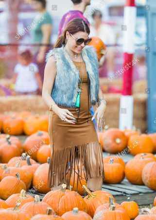 Ali Levine at Pumpkin Patch