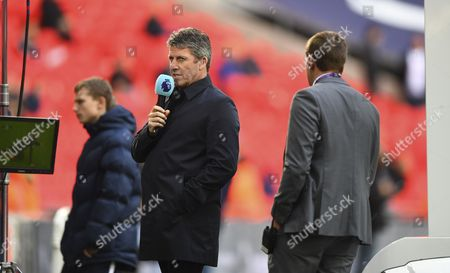 Andy Townsend on television duty