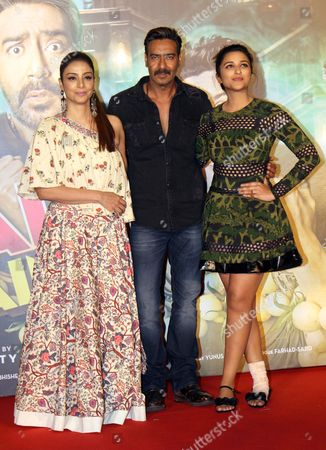 Editorial picture of 'Golmaal Again' film photocall, Mumbai, India - 21 Oct 2017