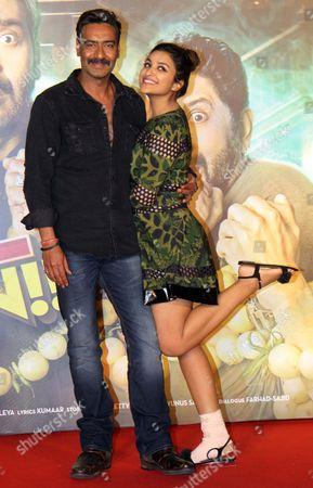 Parineeti Chopra and Ajay Devgan