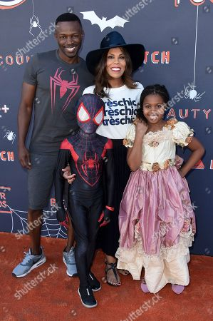 Sean Patrick Thomas, Aonika Laurent. Sean Patrick Thomas, left, and Aonika Laurent attend the GOOD+ Foundation 2nd Annual Halloween Bash at The Culver Studios, in Culver City, Calif