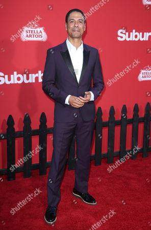 Editorial image of 'Suburbicon' film premiere, Arrivals, Los Angeles, USA - 22 Oct 2017