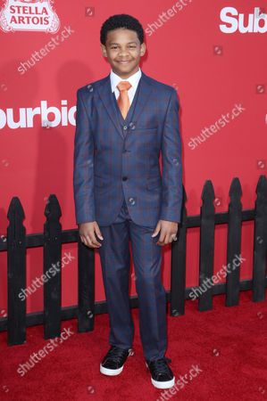 Editorial picture of 'Suburbicon' film premiere, Arrivals, Los Angeles, USA - 22 Oct 2017