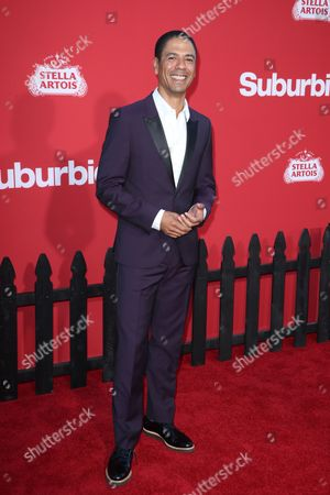 Editorial image of 'Suburbicon' film premiere, Arrivals, Los Angeles, USA - 22 Oct 2017