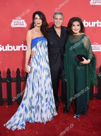 Amal Clooney, George Clooney, Baria Alamuddin