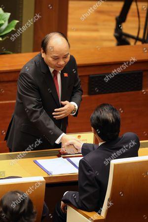 Nguyen Xuan Phuc and Nguyen Tan Dung