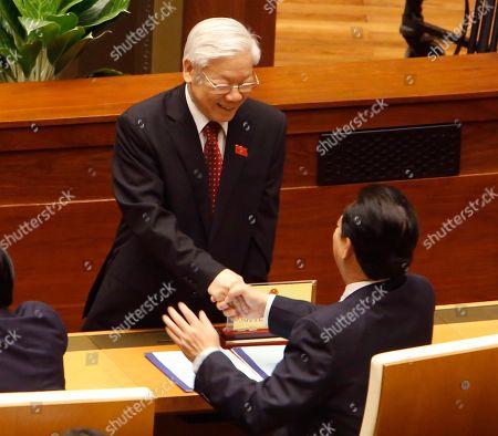 Editorial picture of Politics, Hanoi, Vietnam - 23 Oct 2017
