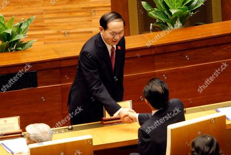 Editorial image of Politics, Hanoi, Vietnam - 23 Oct 2017